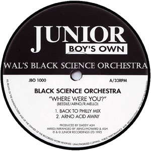 Wal's Black Science Orchestra-FREE Download!