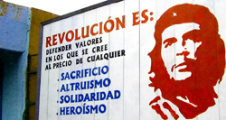 che sign in havana
